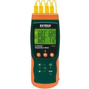 SDL200 4-kanałowy termometr z pamięcią