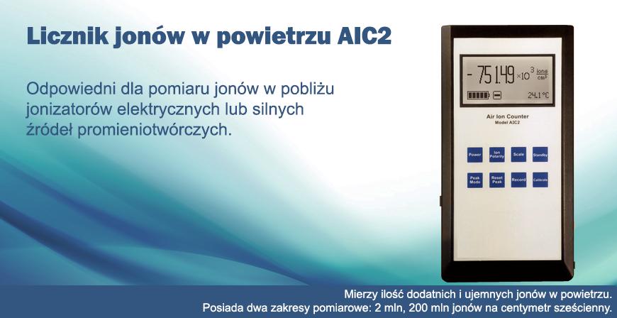 Licznik jonów w powietrzu AIC2